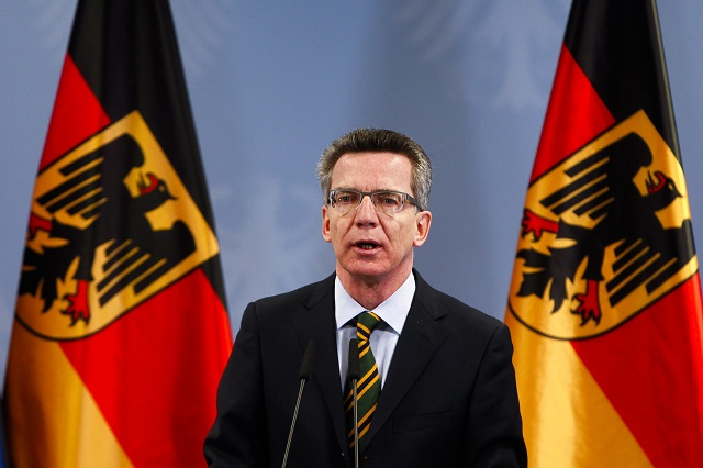 Nemecký miniser vnútra Thomas de Maiziere