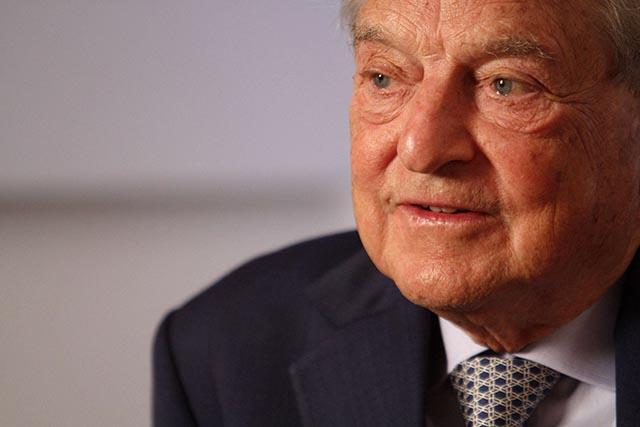 Na snímke finančník George Soros