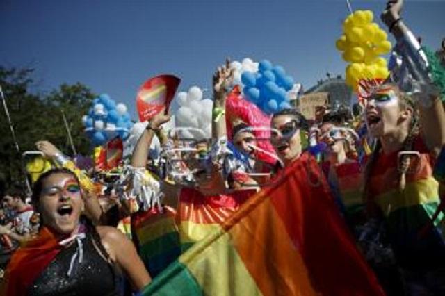 Pochod Gay pride Foto: Daniel Ochoa de Olza