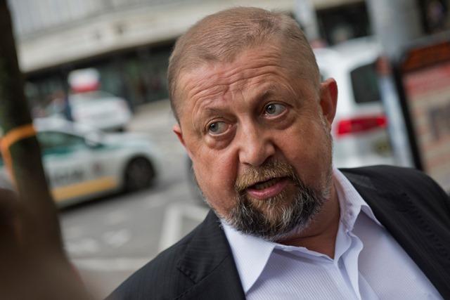 Na snímke bývalý sudca Najvyššieho súdu (NS) SR Štefan Harabin