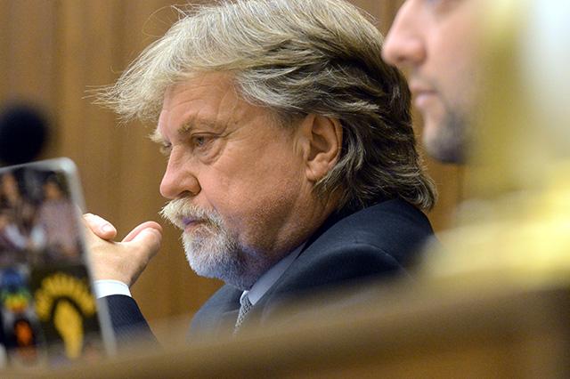 Na snímke poslanec NR SR, predseda parlamentného výboru pre kultúru a médiá Dušan Jarjabek