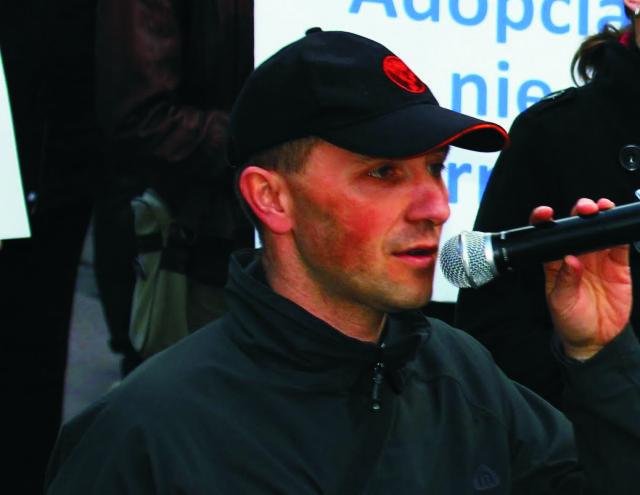 Na snímke Dušan Škurla