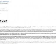 Mail z adresy Suzie Jaworowskej, šéfky Trumpovho volebného štábu v Indiane a jednej z hlavných mediálnych poradcov Trumpa. V tomto maili prišlo do srbského Nedeljnika päť Trumpových odpovedí  na otázky