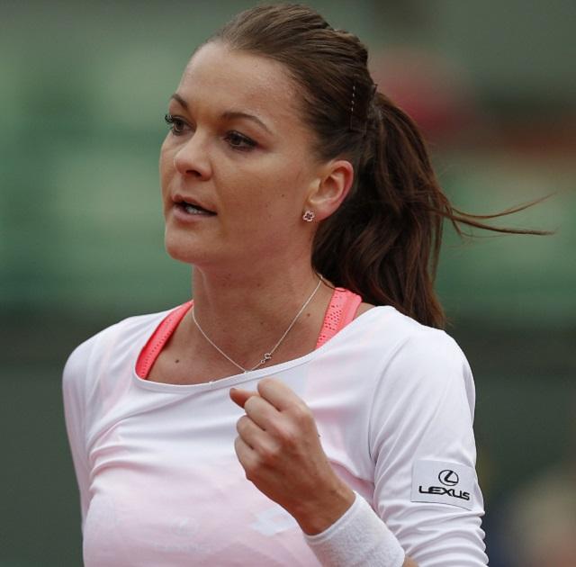 Poľská tenistka Agnieszka Radwaňská