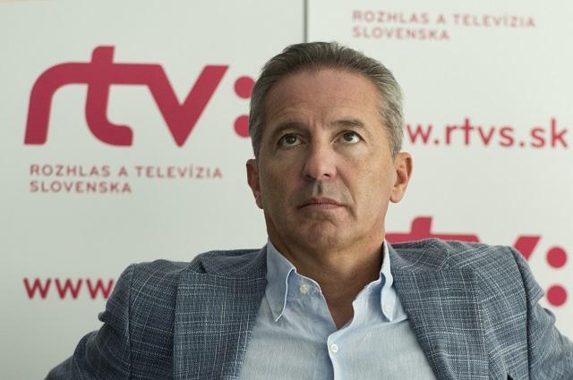 Na snímke Václav Mika