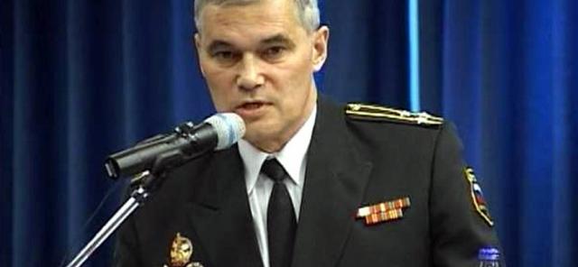 Konstantin Sivkov, člen korešpondent Ruskej vojenskej akadémi raketových a delostreleckých vied