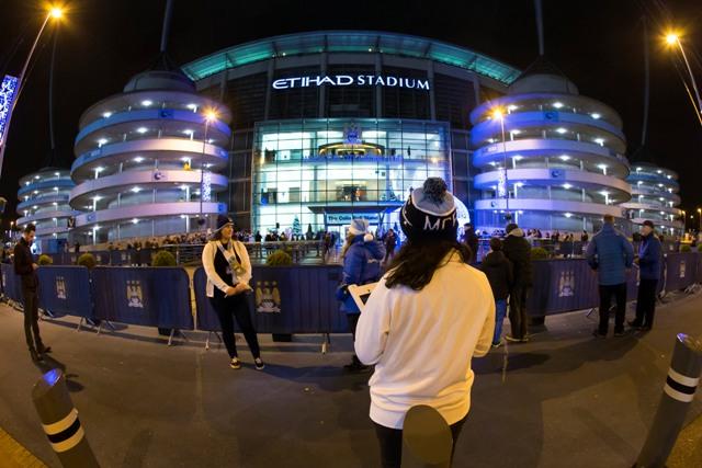 Ilustračné foto: futbalový štadión  Etihad