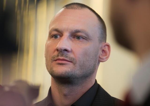 Na snímke šéf vyšetrovacieho tímu kauza Gorila Marek Gajdoš