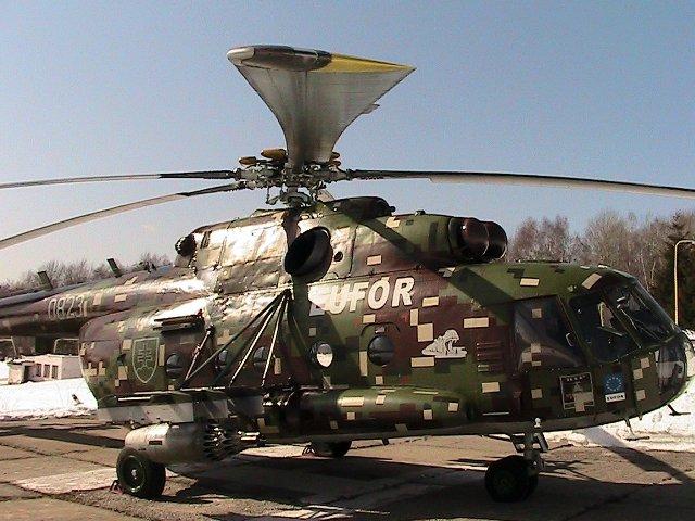 Ilustračné foto: vrtuľník Mi-17