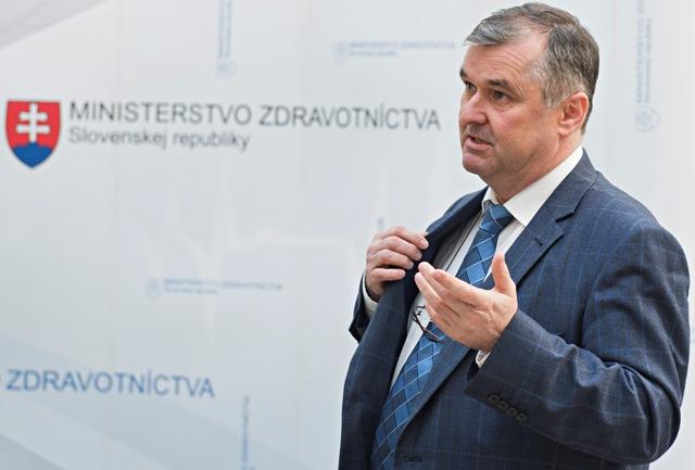 Na snímke prezident Asociácie nemocníc Slovenska (ANS) Marián Petko