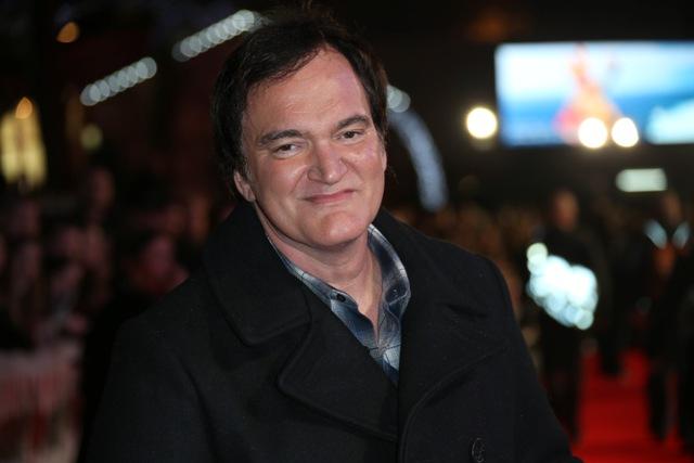 Na snímke režisér Quentin Tarantino