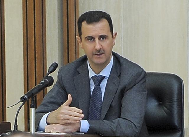 Na snímke sýrsky prezident Bašár Asad Foto:TASR/AP-SANA