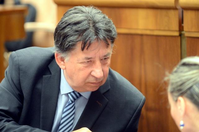 Na snímke poslanec Ján Budaj (OĽANO-NOVA)