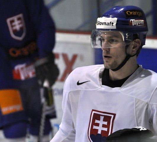 Na snímke Marek Svatoš