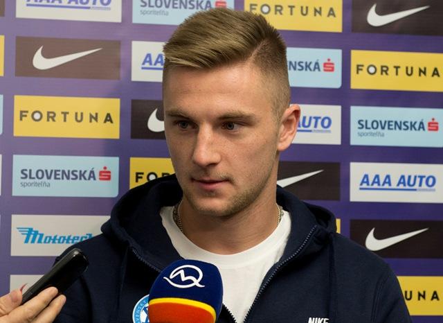Na snímke slovenský futbalový reprezentant Milan Škriniar