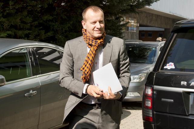 Na snímke líder hnutia Sme rodina Boris Kollár Foto:TASR-Pavel Neubauer