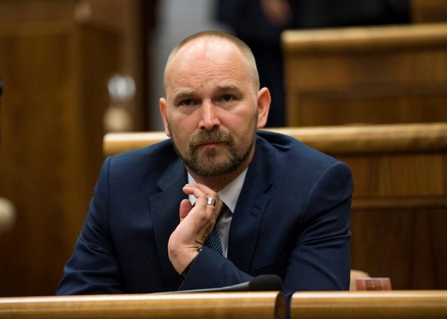 Na snímke poslanec NR SR Jozef Viskupič (OĽaNO-NOVA) Foto.TASR-Jakub Kotian
