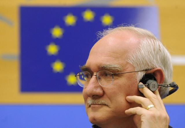 Na snímke europoslanec Miroslav Mikolášik (KDH) Foto:TASR-Štefan Puškáš