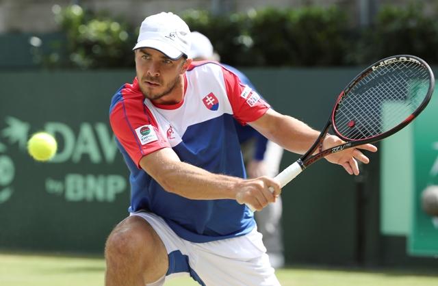 Na snímke slovenský tenista Andrej Martin