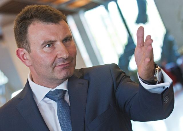 Na snímke riaditeľ finančnej správy František Imrecze