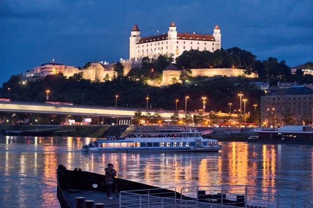 Pohľad na Bratislavský hrad