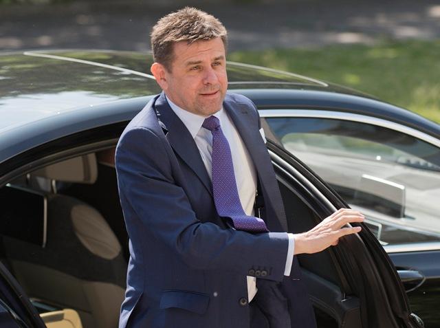 Na snímke minister životného prostredia SR László Sólymos