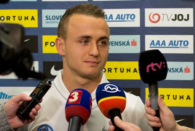 Na snímke slovenský futbalový reprezentant Stanislav Lobotka