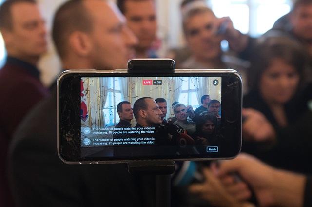 Na snímke končiaci šéf vyšetrovacieho tímu kauza Gorila Marek Gajdoš