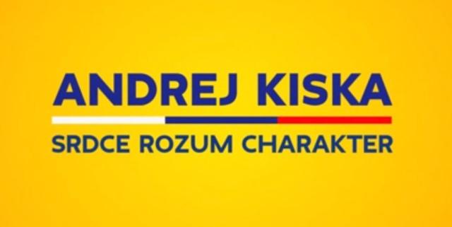 Snímka z volebného šotu Andreja Kisku