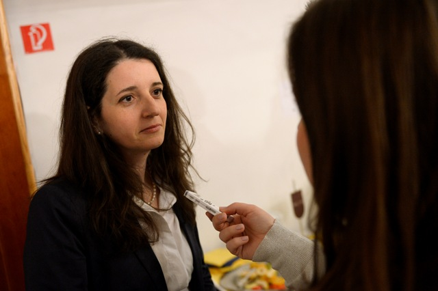 Na snímke slovenská europoslankyňa Jana Žitňanská