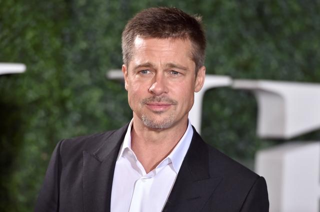 Na snímke americký herec Brad Pitt