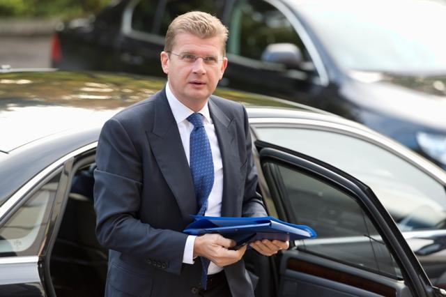 Na snímke minister hospodárstva SR Peter Žiga