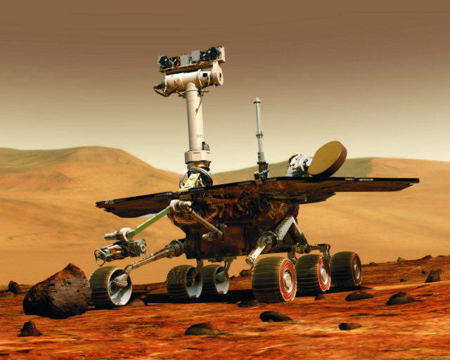 Robotické výskumné vozidlo (rover) Opportunity