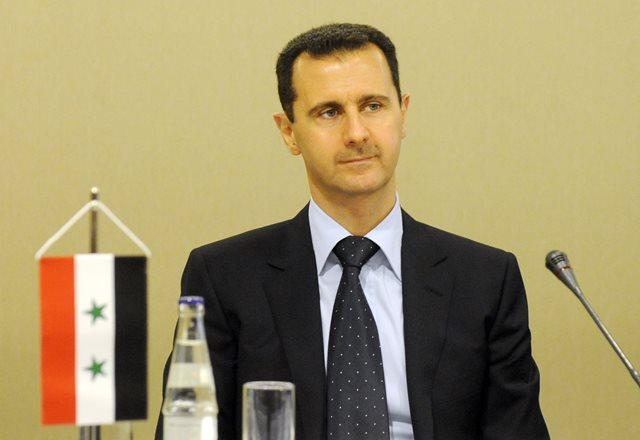 Na snímke sýrsky prezident Bašar Asad