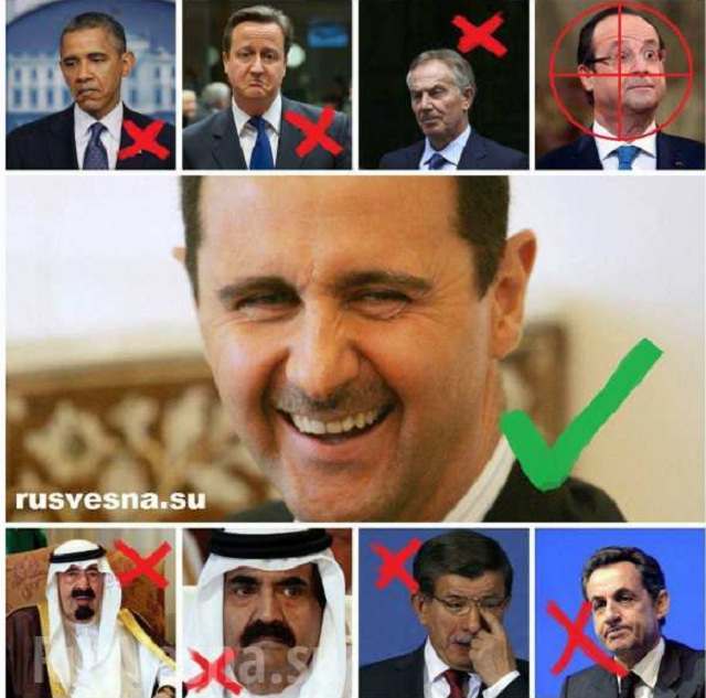 Kliatba Asada - Obama, Camerom, Blair skončili, Asad ostáva