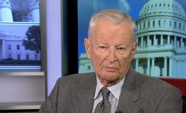 Americký politológ Zbigniew Brzezinski