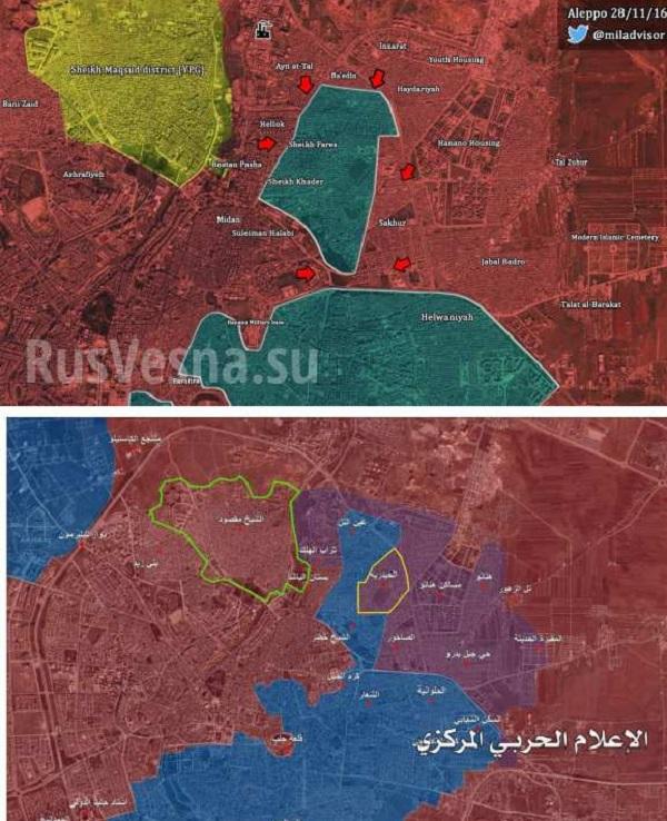 Oslobodenie Aleppa je na dosah, teroristi už nie sú schopní plnohodnotne odolávať