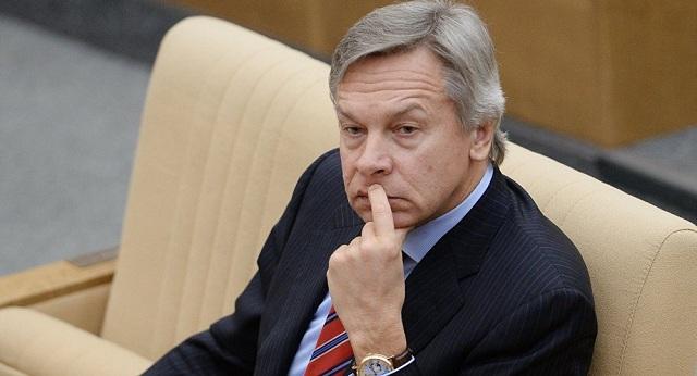 Alexej Puškov,  predseda zahraničného výboru ruskej štátnej dumy