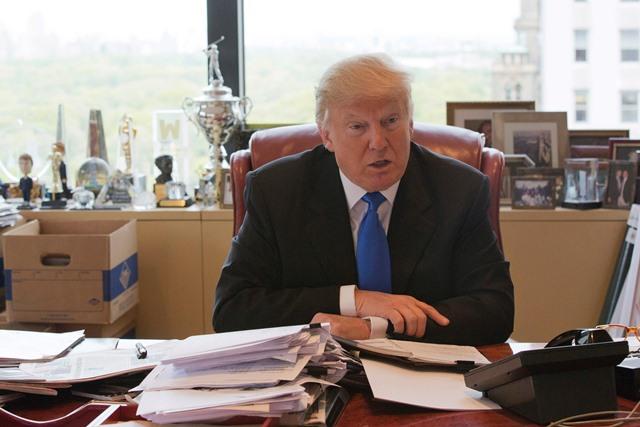 Na snímke republikánsky prezidentský kandidát Donald Trump Foto:Mary Altaffer