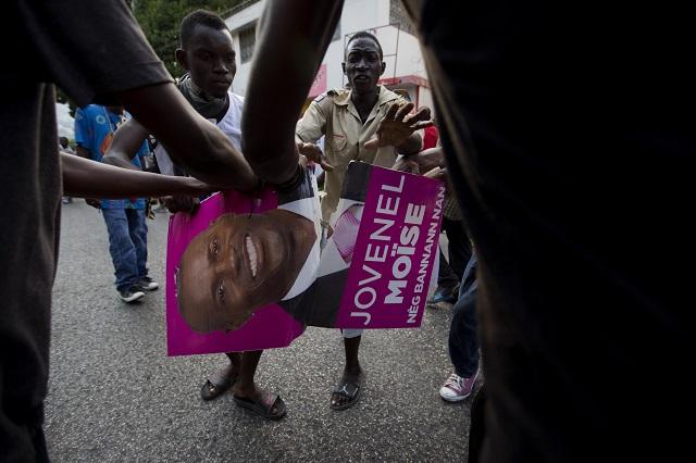 Víťazom prezidentských volieb na Haiti je zrejme Jovenel Moise