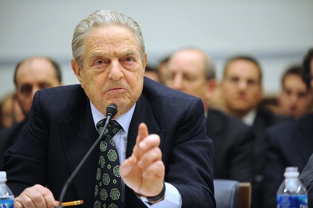 Na snímke finančník a filantrop George Soros
