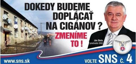 Predvolebná kampaň SNS v roku 2012