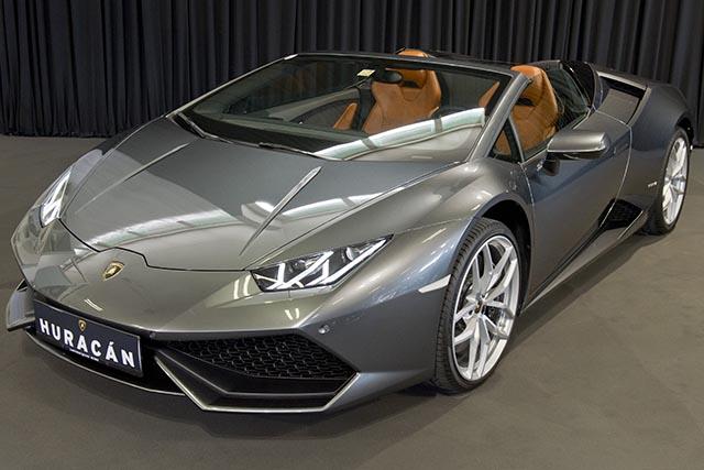 Na snímke Lamborghini Huracán Spyder