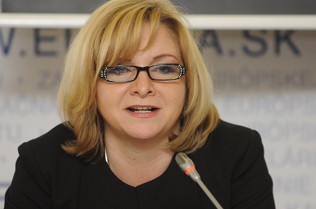 Na snímke Oľga Pietruchová