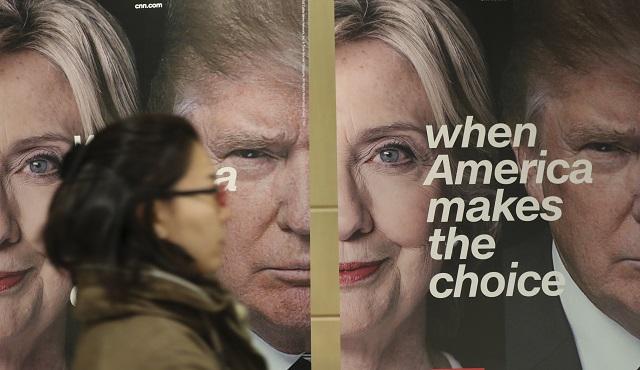 Za Trumpa hlasovali najmä bieli muži; Clintonovú podporili nebelošskí voliči