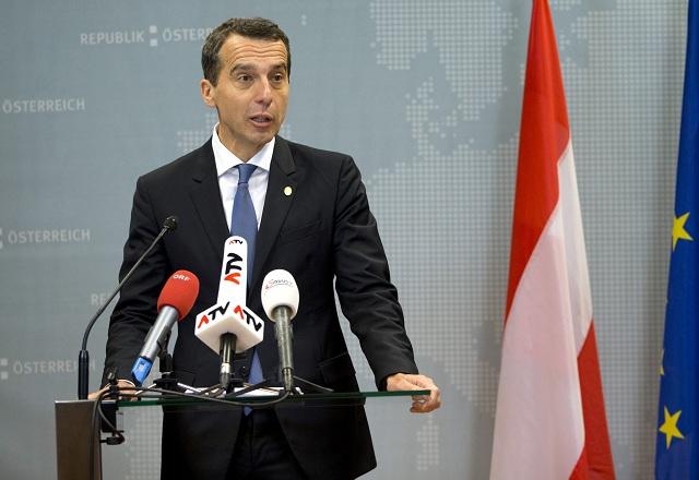 Rakúsky kancelár Christian Kern