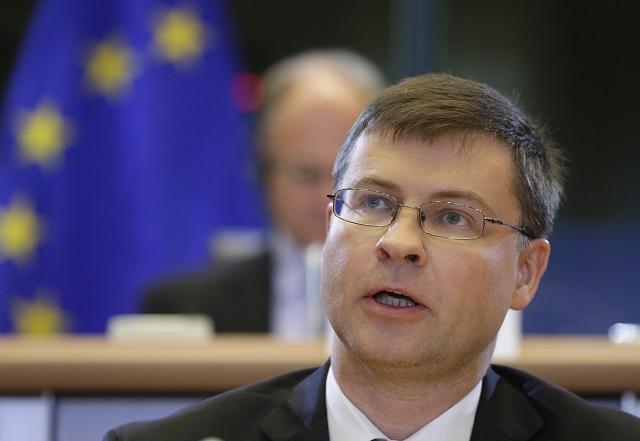 Dezignovaný eurokomisár pre euro a sociálny dialóg Valdis Dombrovskis