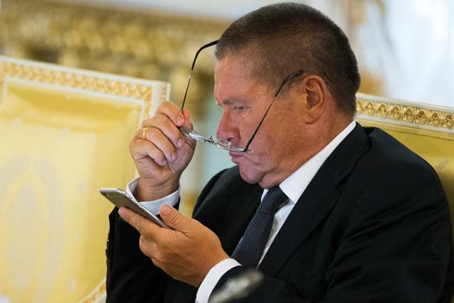 Na snímke  ruský minister pre hospodársky rozvoj Alexej Uľukajev