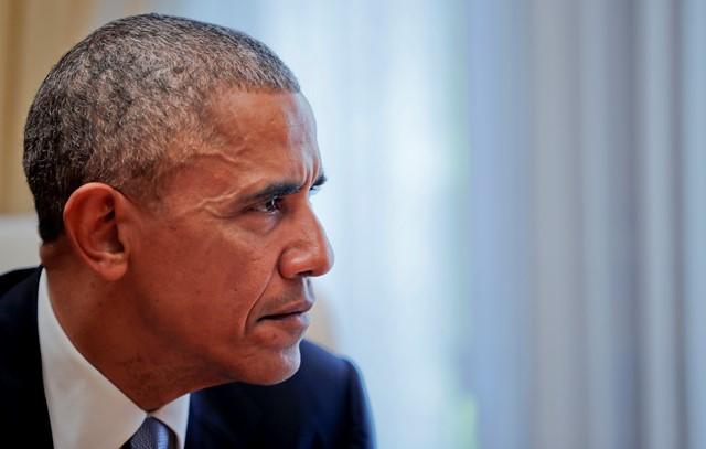 Na snímke prezident Barack Obama