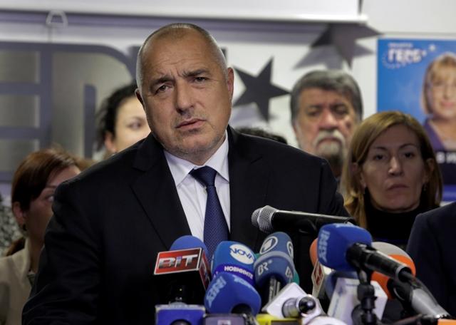 Na snímke Bojko Borisov